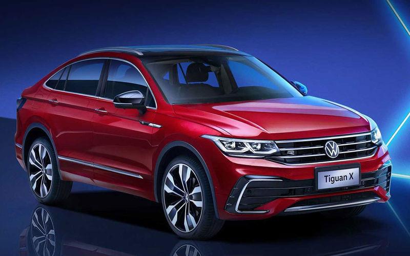VW зробив з Тігуана крос-купе: перші фото Tiguan X
