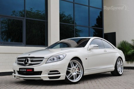 Mercedes CL 800 Coupe від Brabus