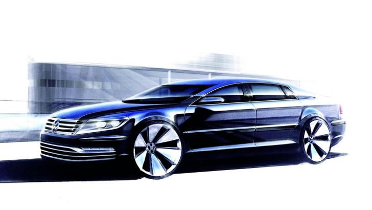 Volkswagen покаже новий Phaeton в 2015 році