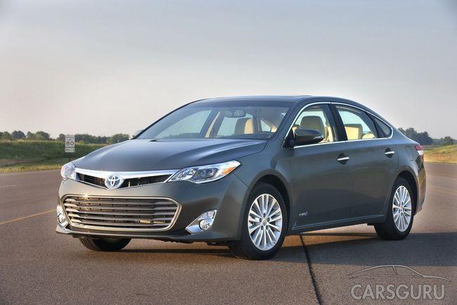 Toyota Avalon стала гібридною