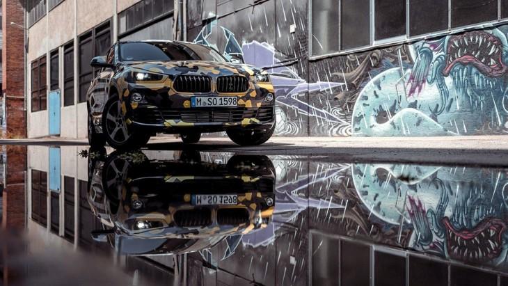 Новий кросовер BMW X2: компанія показала перші зображення