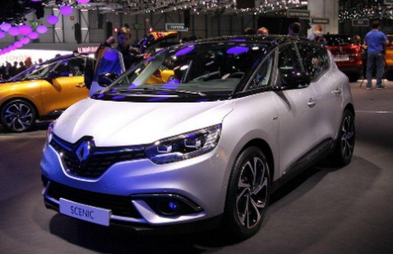 Renault Scenic 2017: офіційна презентація новинки