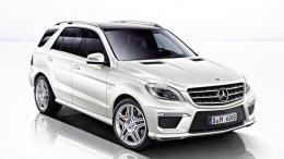 Нове покоління Mercedes-Benz ML63 AMG