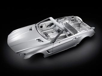 Новий Mercedes-Benz SL стане повністю алюмінієвим