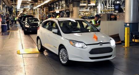 Ford починає виробництво Focus Electric 2012