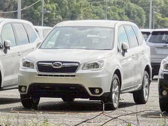 Новий Subaru Forester - перші фото