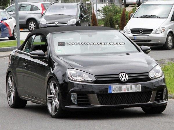 Автовиробник Volkswagen приступив до тестів моделі Golf R Cabriolet