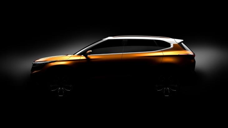 KIA показала абсолютно новий кросовер SP Concept