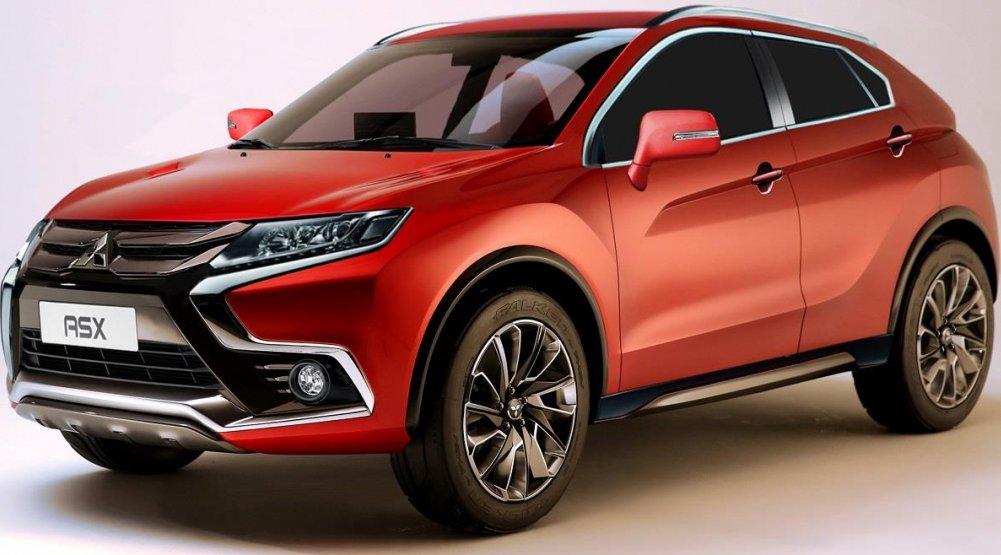 Mitsubishi ASX 2018: перші зображення