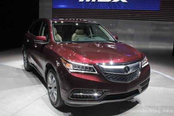 Нова Acura MDX отримала масу поліпшень