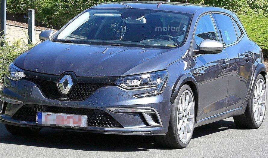 З'явилася свіжа інформація про новий Renault Megane