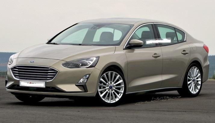 Седан Ford Focus нового покоління: перші зображення