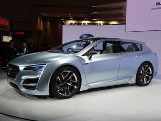 Subaru готує для Америки серійний гібрид