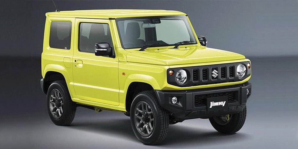 Suzuki показала новий Jimny