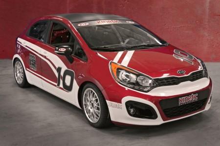 Kia Rio від Kinetic Motorsport