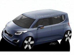 Перший електрокар від Kia буде випущений на базі концепту Hyundai i10 BlueOn