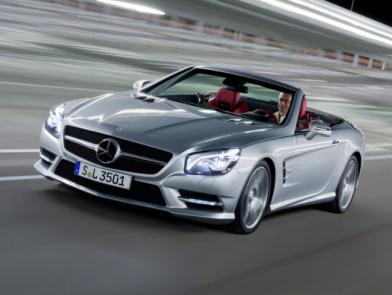 Офіційні фото шостого покоління Mercedes-Benz SL