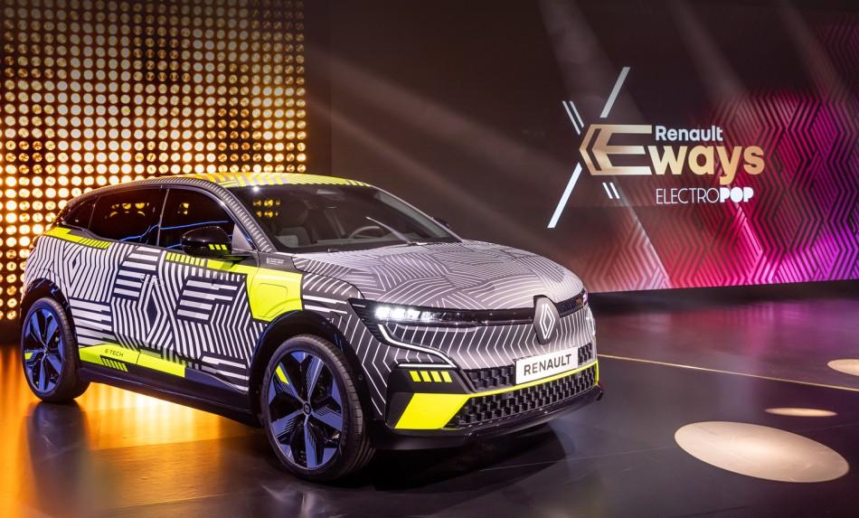 Renault анонсувала електричні проекти