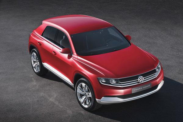 Volkswagen продемонстрував в Женеві новий кросовер