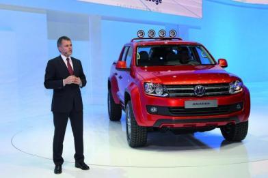 Volkswagen підготував пікап для любителів екстриму