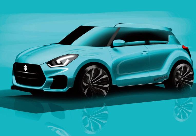 Новий Suzuki Swift: перша інформація