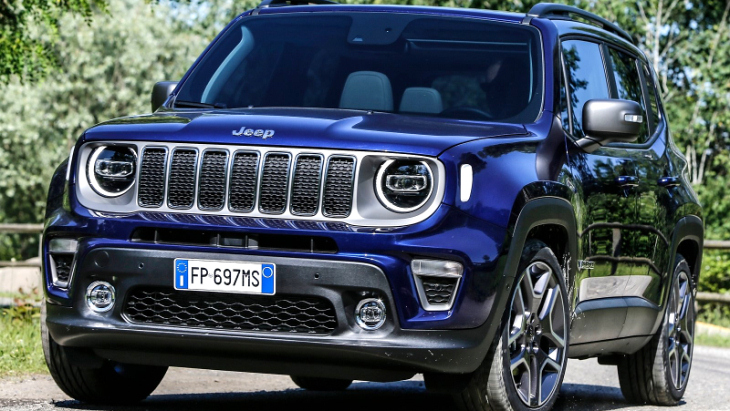 Дебют Jeep Renegade 2019