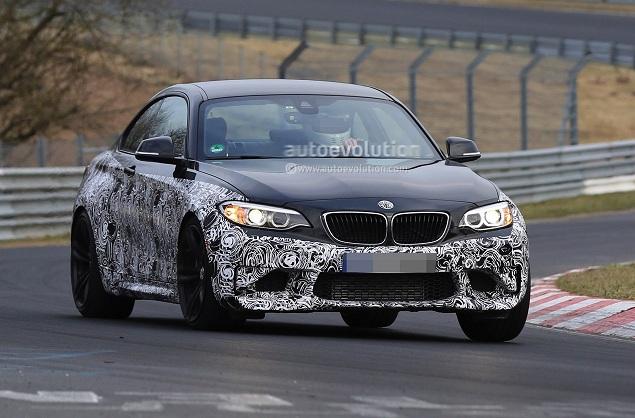BMW M2: відео з тестувань