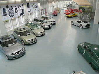 Автомобілі з музею Saab підуть з молотка