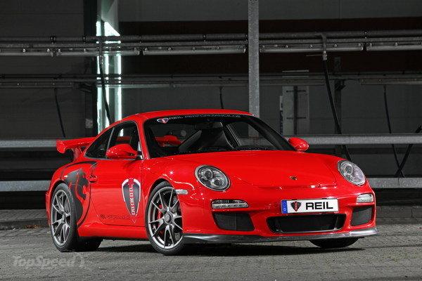 REIL Performance підмарафетив Porsche 911 GT3