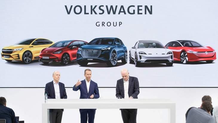 70 нових електричних моделей від Volkswagen