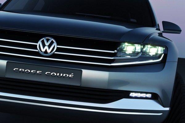 Volkswagen представив модель Cross Coupe