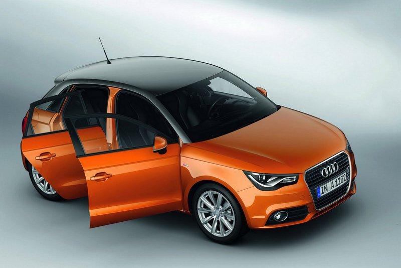 Audi A1 отримало додаткові двері