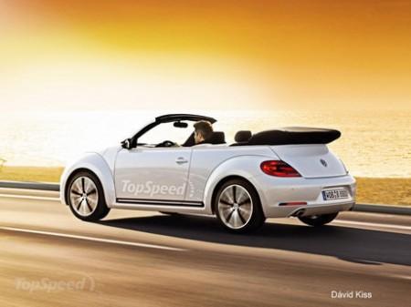 Перший рендер нового кабріолета Volkswagen Beetle 31 січня 2012