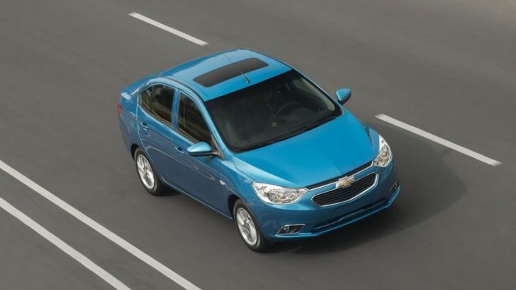 Chevrolet офіційно представила «новий» седан Aveo 2018