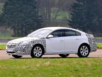 Opel Insignia готується до оновлення