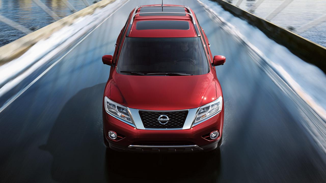 Представлений Nissan Pathfinder 2013 року