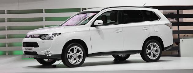 Mitsubishi представив новий Outlander