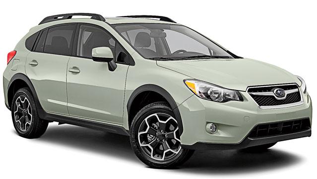 Subaru побудувала гібридний кросовер