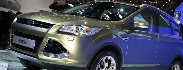 Новий Ford Kuga показали в Женеві