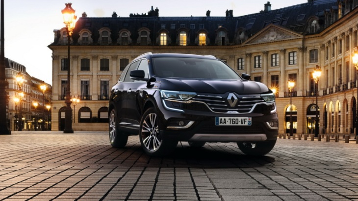 Renault підготувала новий Koleos