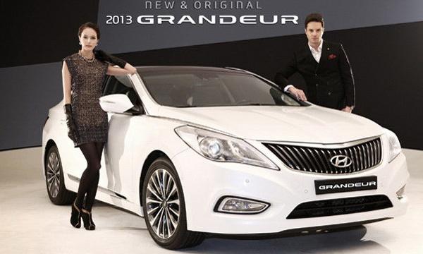 Hyundai оновив седан Grandeur