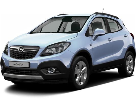Кросовер Opel Mokka їде в Україну
