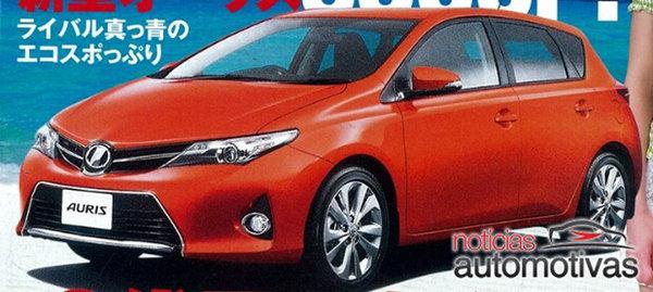 Японці розсекретили нову Toyota Auris