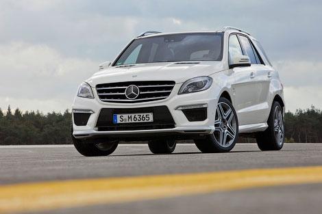 Mercedes-Benz розсекретив новий заряджений M-Class