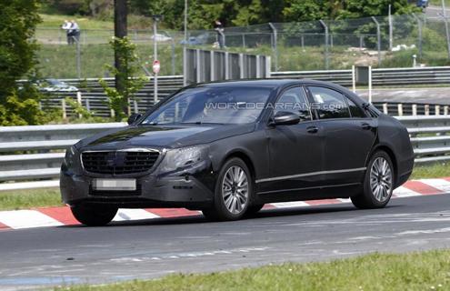 Mercedes-Benz S-класу - останні випробування