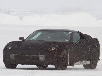Фотошпигунам вперше попався новий Chevrolet Corvette