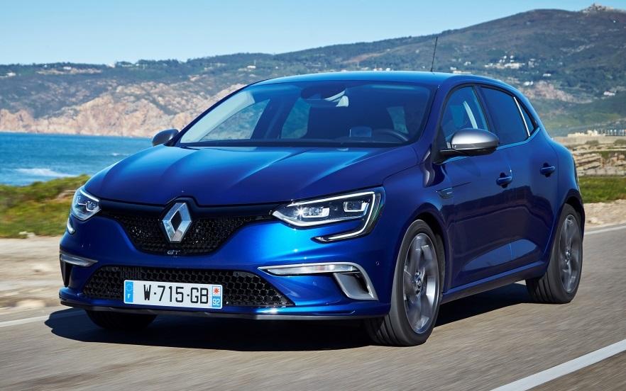 Новий Renault Megane: технічна інформація