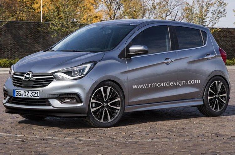 Перші зображення хетчбека Opel Karl 2017