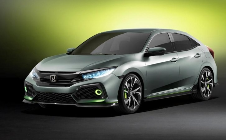Honda Civic 2017 представлений в Женеві (Відео)