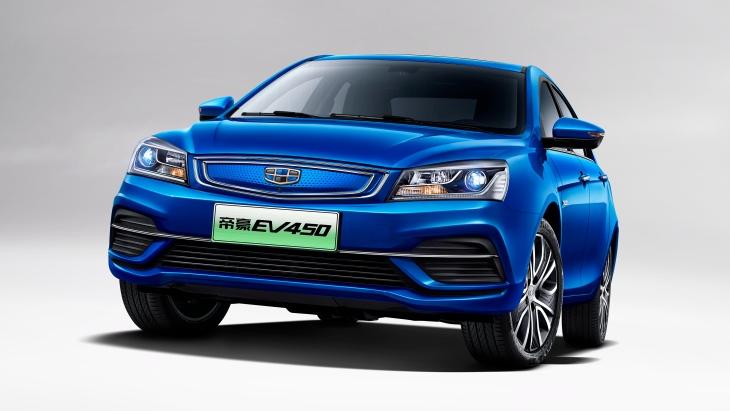 Geely Motors офіційно розсекретив новий електричний седан Geely Emgrand 2018